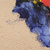 azul · colores · acuarela · arte · frontera · espacio · de · la · copia - foto stock © inxti