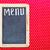 restaurant · menu · Blackboard · geschreven · vis · frame - stockfoto © inxti