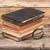 虫眼鏡 · 古い · 図書 · スタック · アンティーク · 木製のテーブル - ストックフォト © inxti