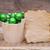 Noël · décoration · table · en · bois · mur · résumé · balle - photo stock © inxti