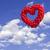 старые · окрашенный · небе · облака · текстуры - Сток-фото © inxti