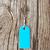 bleu · tag · argent · chaîne · vieux · bois - photo stock © inxti