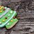 holiday cookie on rustic wooden background for the holidays stock photo © inxti