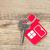 kulcs · zár · ház · ikon · absztrakt · biztonság - stock fotó © inxti