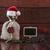 karácsony · kávé · kávé · üres · tábla · fa · asztal · fa - stock fotó © inxti