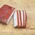 gerookt · achtergrond · vlees · huid · witte · koken - stockfoto © inxti