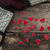 small red hearts on old wooden background i love you stock photo © inxti