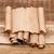 blank old sheet paper on pile scrolls stock photo © inxti