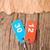 deux · coloré · nombre · vieux · papier · affaires - photo stock © inxti