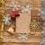 karácsony · dekoráció · fából · készült · fal · fa · fa - stock fotó © inxti