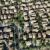 luchtfoto · voorstads- · buurt · huis · gebouw - stockfoto © iofoto