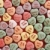 candy hearts on red stock photo © iofoto