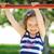 little · girl · família · menina · feliz · diversão · retrato - foto stock © Ionia