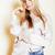 девушки · портрет · длинные · волосы · молодые · модель - Сток-фото © iordani