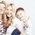 счастливым · улыбаясь · семьи · вместе · позируют - Сток-фото © iordani