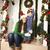 kadın · Noel · hediye · açık · havada · kış - stok fotoğraf © iordani