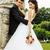 美しい · 花嫁 · 新郎 · ダンス · 緑 - ストックフォト © iordani