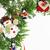 Рождества · украшение · изолированный · белый · пост · карт - Сток-фото © iordani