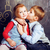 jongen · meisje · romantiek · liefde · kind · schoonheid - stockfoto © iordani