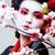 geisha · kimono · nero · giovani · bella · asian - foto d'archivio © iordani