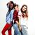 różnorodny · naród · dziewcząt · grupy · znajomych - zdjęcia stock © iordani