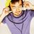 jovem · asiático · homem · seis · fones · de · ouvido · escuta - foto stock © iordani