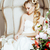 belleza · jóvenes · novia · solo · lujo · vintage - foto stock © iordani