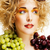 mujer · pomelo · aislado · blanco · alimentos · cara - foto stock © iordani