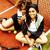 молодые · довольно · подвесной · теннисный · корт · моде - Сток-фото © iordani