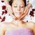 stock photo attractive lady getting spa treatment in salon heal stock photo © iordani