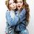 estilo · de · vida · personas · moda · retrato · dos · elegante - foto stock © iordani