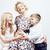 mutlu · gülen · aile · birlikte · poz - stok fotoğraf © iordani