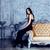 moda · portre · genç · zarif · kadın · yatak - stok fotoğraf © iordani