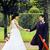 hermosa · novia · novio · baile · personas · pista · de · baile - foto stock © iordani