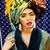 közelkép · arc · nő · gyönyörű · nő · felfelé · kompakt - stock fotó © iordani