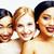 tre · diverso · nazione · donna · asian - foto d'archivio © iordani