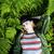 ブロンド · 少女 · 赤 · 帽子 · 美しい · 女性 - ストックフォト © iordani