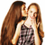 deux · cute · adolescents · ensemble · isolé - photo stock © iordani