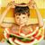 ragazzo · mangiare · anguria · esterna · faccia · divertimento - foto d'archivio © iordani
