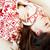 小さな · かなり · ブルネット · 少女 · クリスマス · 飾り - ストックフォト © iordani