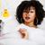 小さな · 十代の少女 · バス · 泡 · 着用 - ストックフォト © iordani