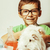 мало · ребенка · ученого · лаборатория · Cute · мужчины - Сток-фото © iordani