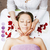stock · foto · attrattivo · signora · trattamento · termale · salone - foto d'archivio © iordani