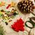 ручной · работы · Рождества · подарки · Mess · игрушками · свечей - Сток-фото © iordani