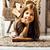かわいい · ブルネット · 少女 · ホーム · インテリア - ストックフォト © iordani