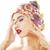 jonge · mooie · moderne · meisje · heldere · hoofd - stockfoto © iordani