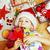 statuetka · czerwony · serca - zdjęcia stock © iordani