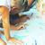 kleuterschool · kinderen · schilderij · papier · verf · kunst - stockfoto © iordani