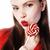dziewczyna · różowy · włosy · candy · usta - zdjęcia stock © iordani