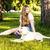 kadın · bacaklar · köpek · rus · terriyer · göz - stok fotoğraf © iordani